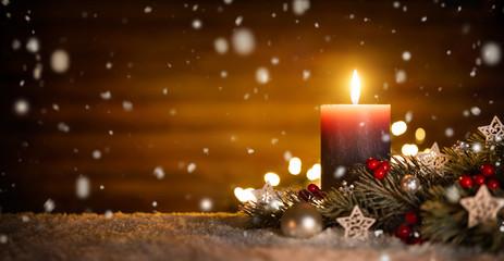 Weihnachtswanderung und vorweihnachtlichen Feier