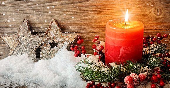 Winterwanderung und vorweihnachtlichen Feier