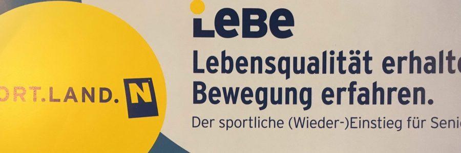 Neue LeBe-Aktionen für Senioren und Damen!