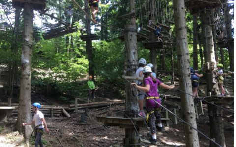 Ferienspiel 2020: Ausflug in den Kraxlpark